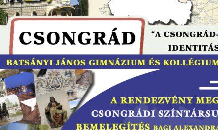 """""""Identitás erősítése"""" rendezvény Csongrádon"""